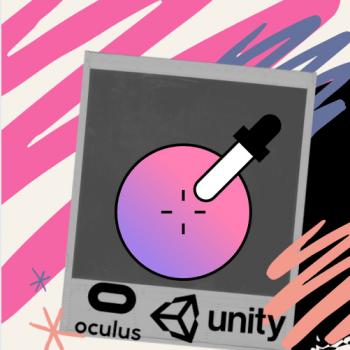 Color picker demo in VR