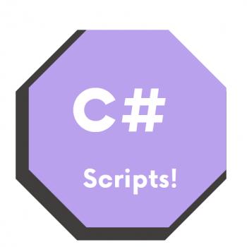 Unity3D C# Scripts